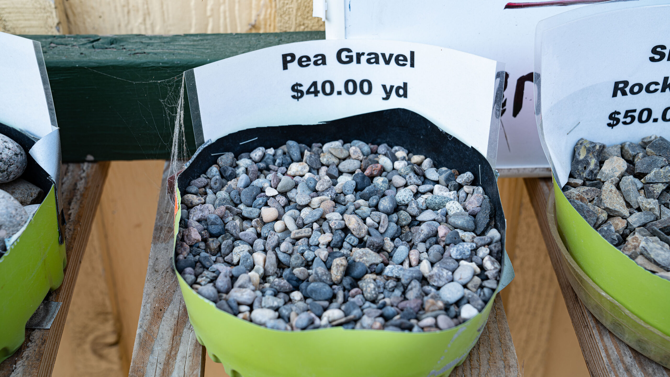Pea Gravel - Adams Gardens